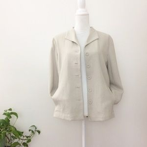 NWT Eileen Fisher Muslin Cotton Jacket